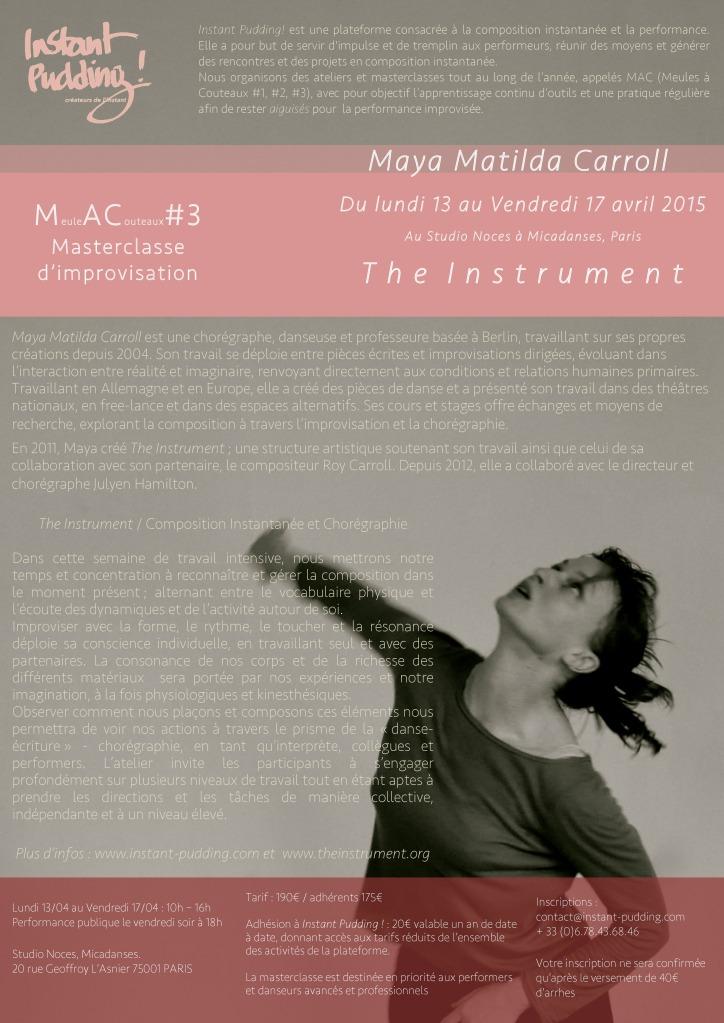 MAC#3 Maya M. Carroll