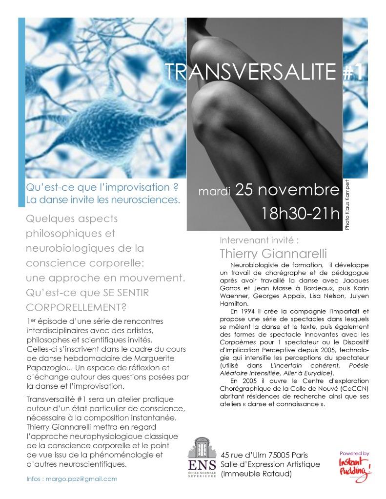 Transversalité#1 Thierry_Gianarelli